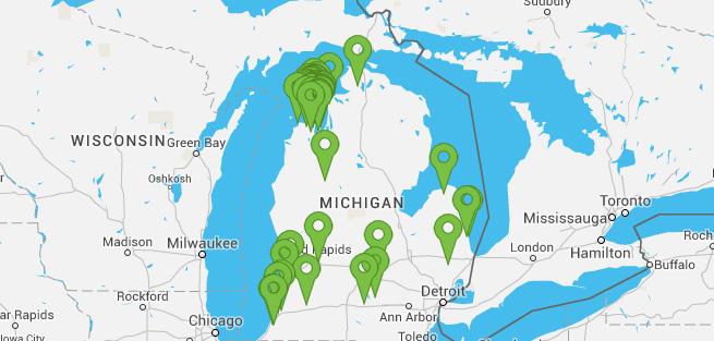 Drink Michigan Celebrating Michigan Beer Wine And Spirits - Michigan wineries map